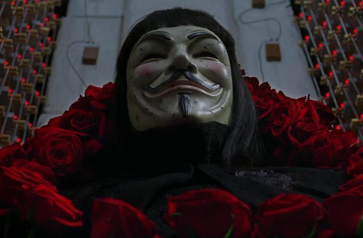 Le frasi più indimenticabili di V per Vendetta