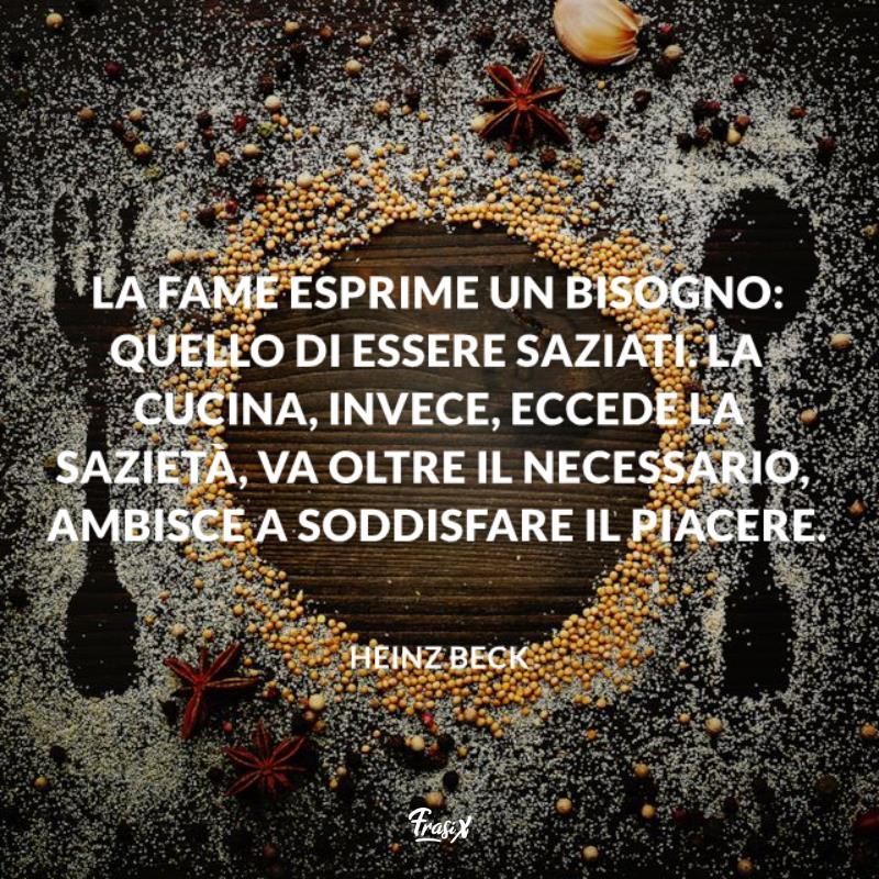 Immagine con citazione beck per frasi sulla cucina con amore
