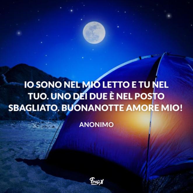 Buonanotte amore mio!