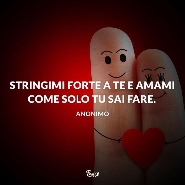 Immagine con frase romantica di San Valentino