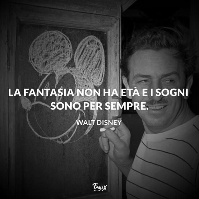 Frasi Motivazionali Walt Disney.Frasi Disney Le Piu Belle Degli Indimenticabili Cartoni Animati