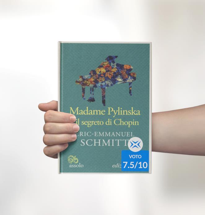 Madame Pylinska e il segreto di Chopin, cover del libro con voto