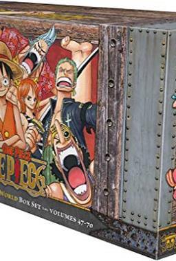 One Piece Box Set 3: Thriller Bark to New World, Bonus Mini Comic