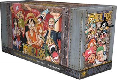One Piece Box Set 3: Thriller Bark to New World, Bonus Mini Comic