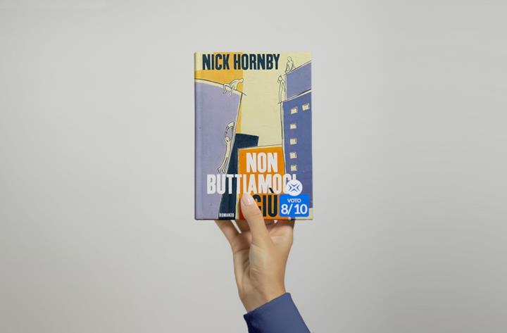 Cover di Non buttiamoci giù di Nick Hornby