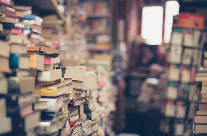 Libri ammassati