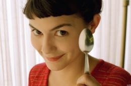 La protagonista del film Il favoloso mondo di Amélie