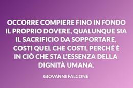 Una selezione di frasi di Giovanni Falcone che parlano di mafia e vita