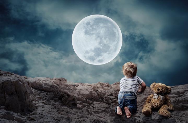 Copertina buona notte e sogni d'oro frasi