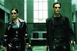 Una scena dal film Matrix