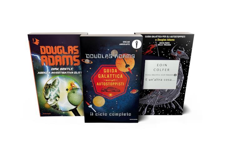 Douglas Adams, gli altri libri oltre Guida Galattica