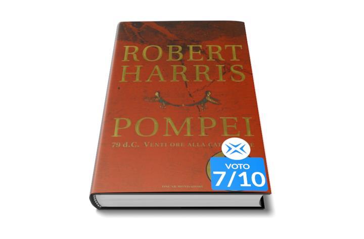 Pompei di Robert Harris libro