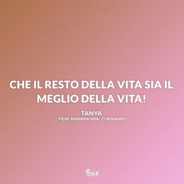 Immagine con frase di Mamma Mia! Ci risiamo
