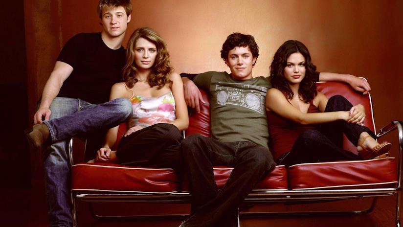 Summer, Seth Cohen, Ryan e Marissa protagonisti in THe O.C.