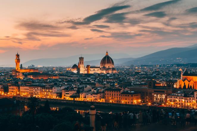 Copertina per frasi su Firenze canzoni