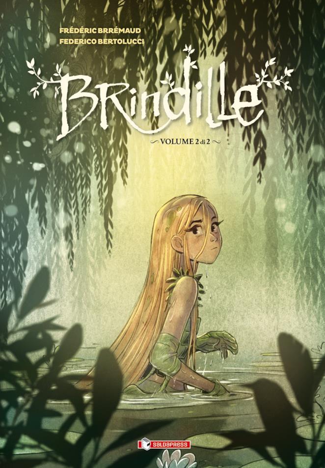 Cover di Brindille #2, con la fatina in copertina