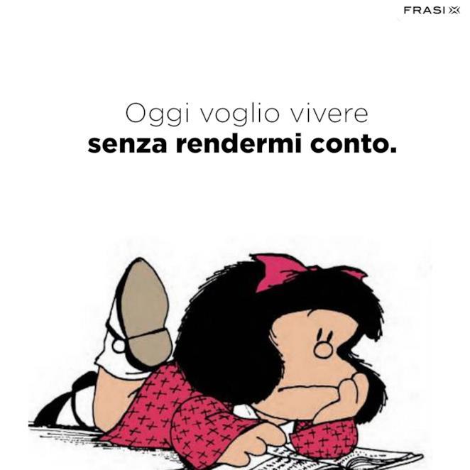 Frasi belle di Mafalda sulla vita
