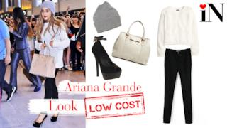 Look per essere con Ariana Grande dai prezzi low cost
