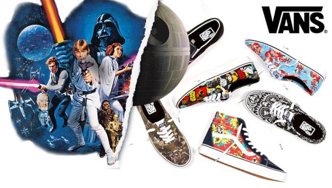La linea di scarpe Vans lancia l'edizione speciale di Star Wars