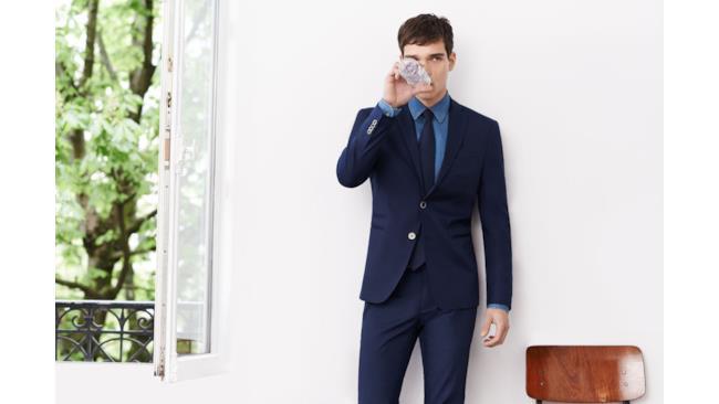 Blazer e pantaloni di Zara, lookbook