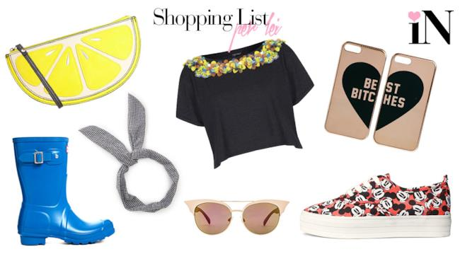 La shopping list dai prezzi low cost