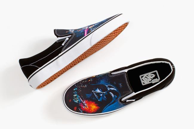 Vans x Star Wars la capsule collection di Vans, modello slip-on