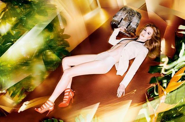 Nicole Kidman per nuova campagna primavera-estate by Jimmy Choo
