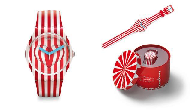 Il nuovo orologio di Swatch per San Valentino 2014