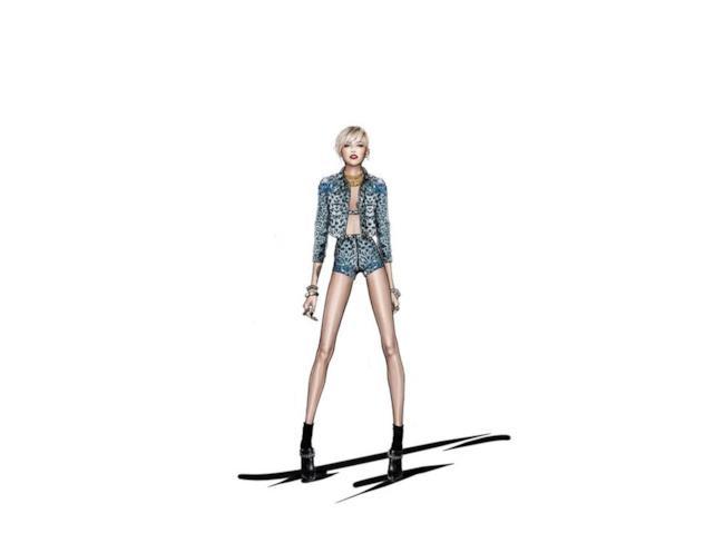 Roberto Cavalli vestirà Miley Cyrus per il suo concerti