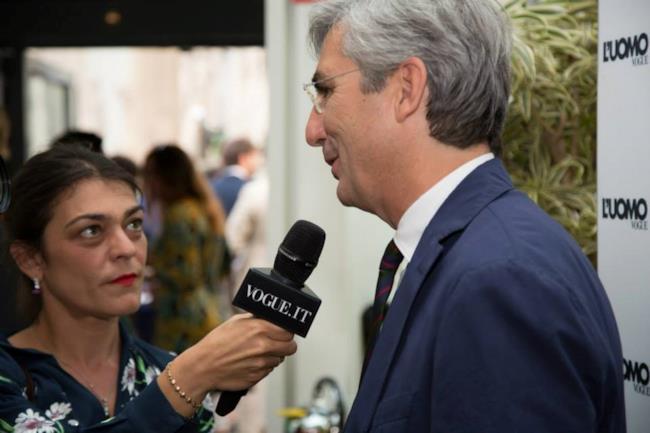 La premiazione dei Vogue Talents alla Rinascente di Milano per la Milano Fashion Week