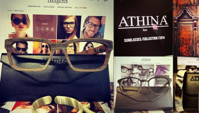 Athina' Lux è il nuovo brand di occhiali da sole e da vista