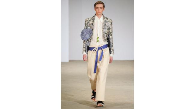 La nuova collezione di Walter Van Beirendonck per la primavera estate 2015, Paris fashion Week