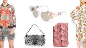 Texture floreali da applicare sui capi per essere trendy durante l'estate 2014