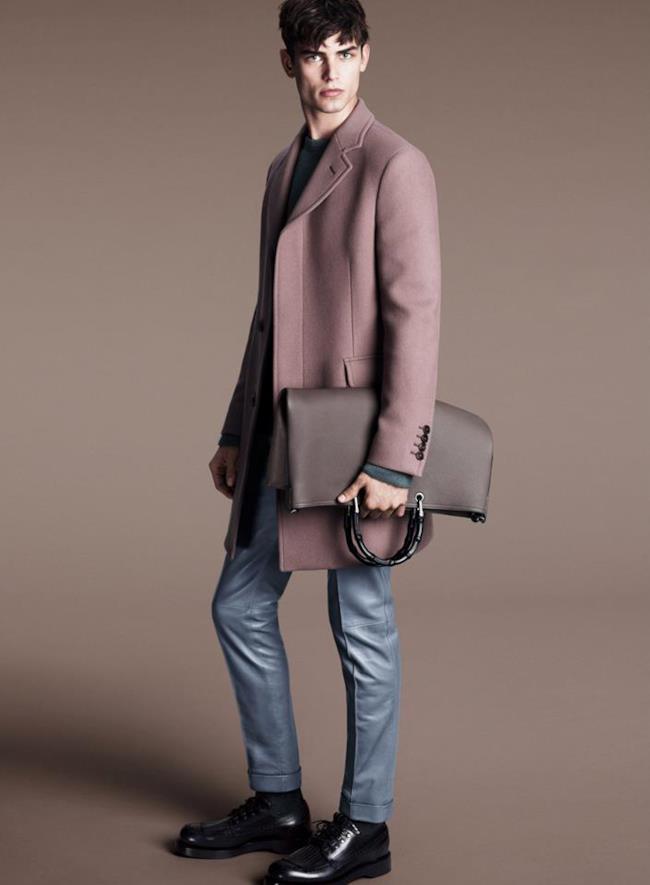 La nuova collezione uomo di Gucci per l'autunno inverno 2014
