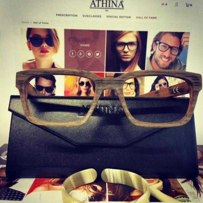 Athina' Lux il nuovo occhiale da sole per l'estate 2014, modello Imposing