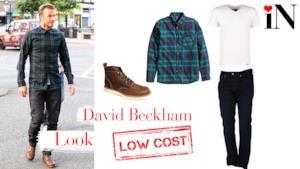 Il look low cost per avere uno stile come il calciatore David Beckham