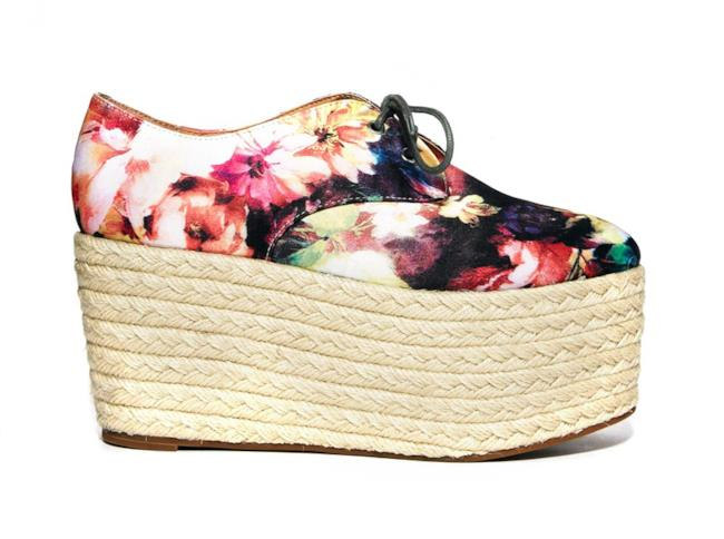 Shopping list 2014: la stringata con flatform per l'estate
