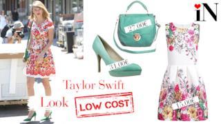 Il perfetto look con abito a fiori per essere come Taylor Swift