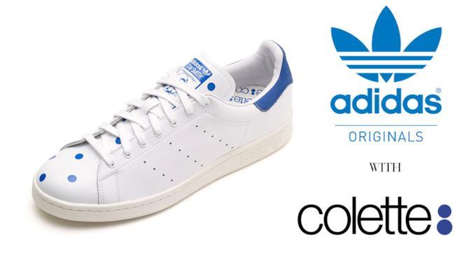 Le Stan Smith di Adidas Originals vengono personalizzate da Colette