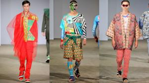Walter Van Beirendonck spring summer 2015 collection menwear