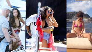 Rihanna è in vacanza in Italia, ecco tutte le foto!