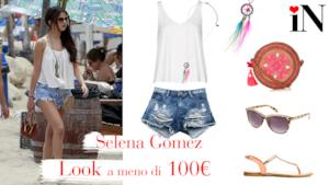 Avere un look low cost in stile Selena Gomez per l'estate 2014