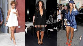Rihanna alla Fashion Week di New York