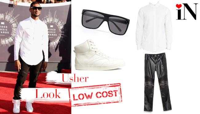 L'outfit per avere un outfit comq quello di Usher ai VMAs 2014