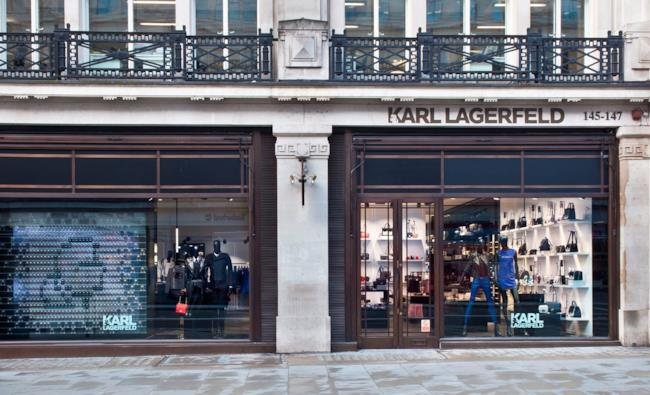 Karl Lagerfeld apre il nuovo flagship store