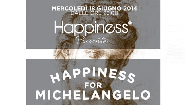 """Happiness presenta la nuova capsule collection """"Happiness for Michelangelo"""" a Casa Buonarroti"""