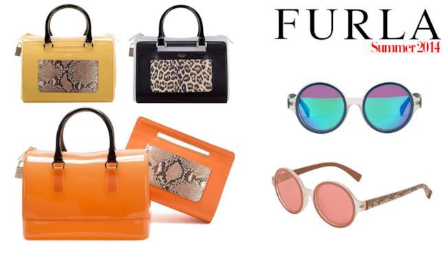 Per l'estate 2014 Furla ha curato una collezione Candy davvero fashion