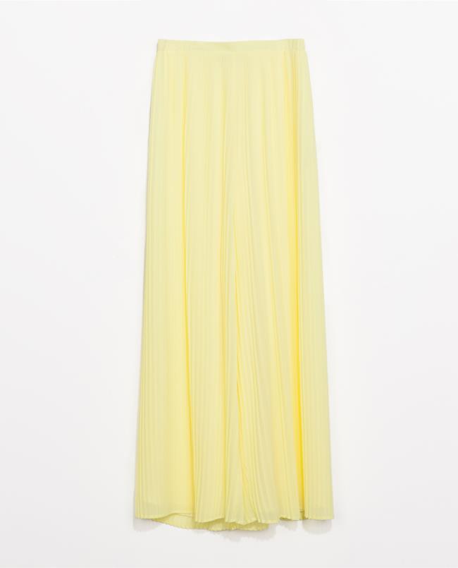 Pantalone ampio di Zara per la shopping list