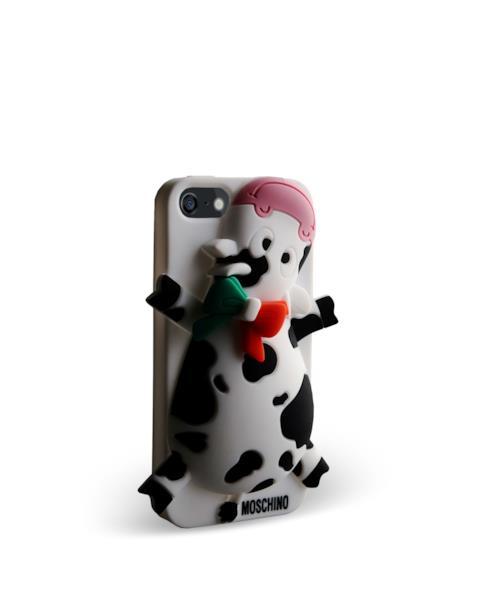 Moschino covercase con mucca