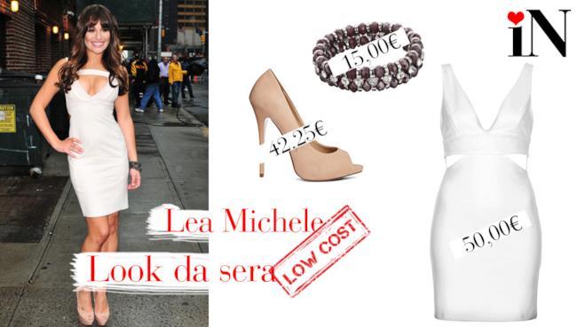 Il look ideale per assomigliare a Lea Michele